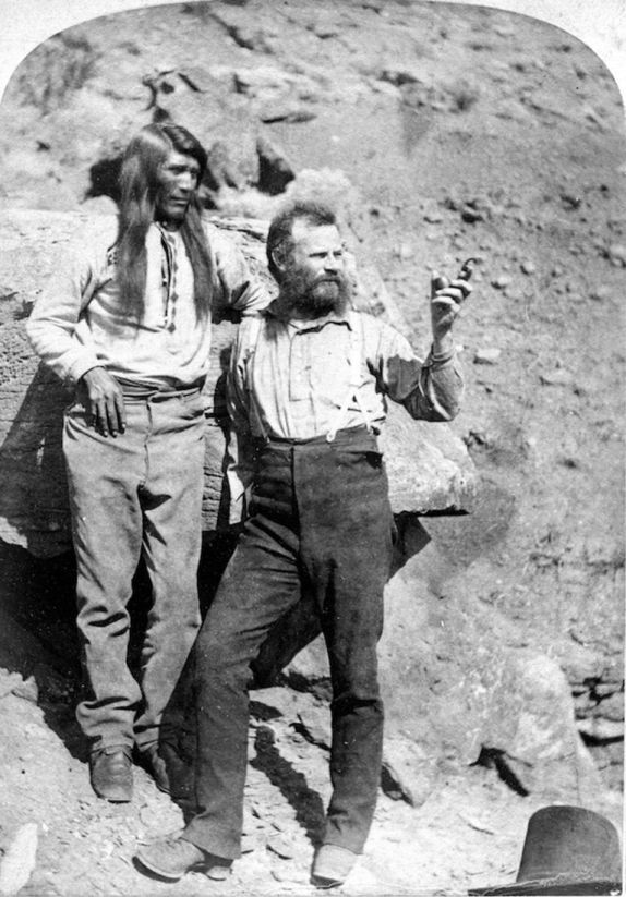 John Wesley Powell e um possível Ute