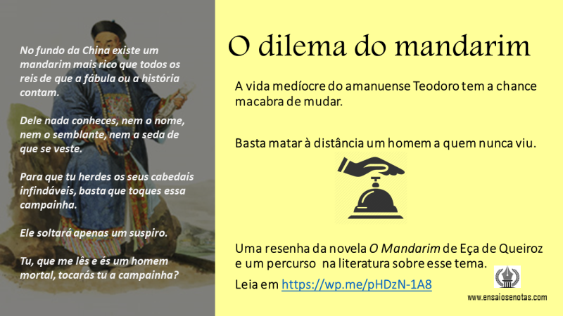 O dilema do mandarim