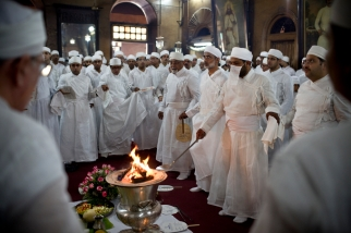 (04/09/2011) WAPIZ jashan ceremony held in the Banaji Atash Behram in Mumbai on April 9th, 2011.