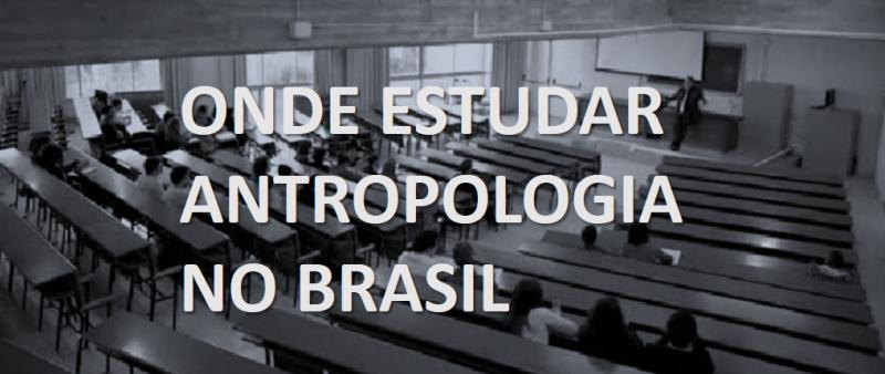 Estudar antropologia