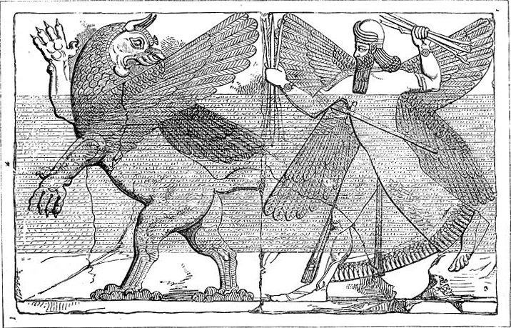 Marduk luta com Tiamat